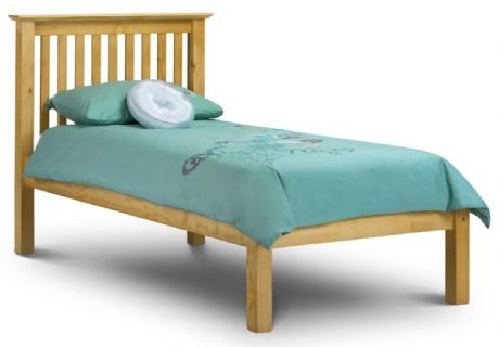 Barcelona Pine Single Bed Low Foot End Sale Now On Your Price Furniture